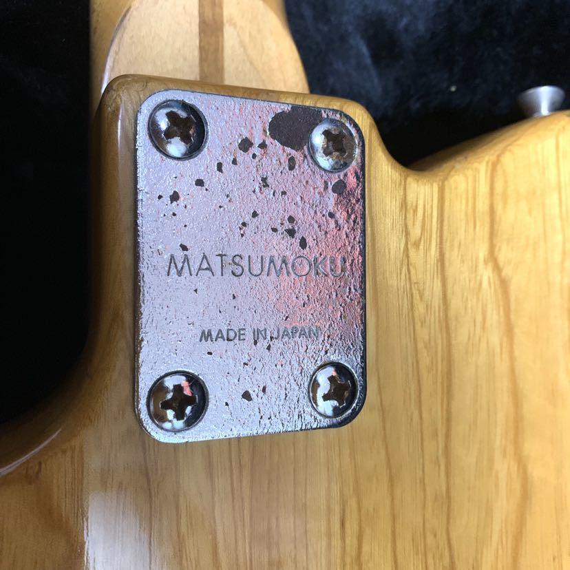 マツモク製 Greco グレコ テレキャスター シンライン 日本製 ジャパンヴィンテージ ビンテージギター_画像4