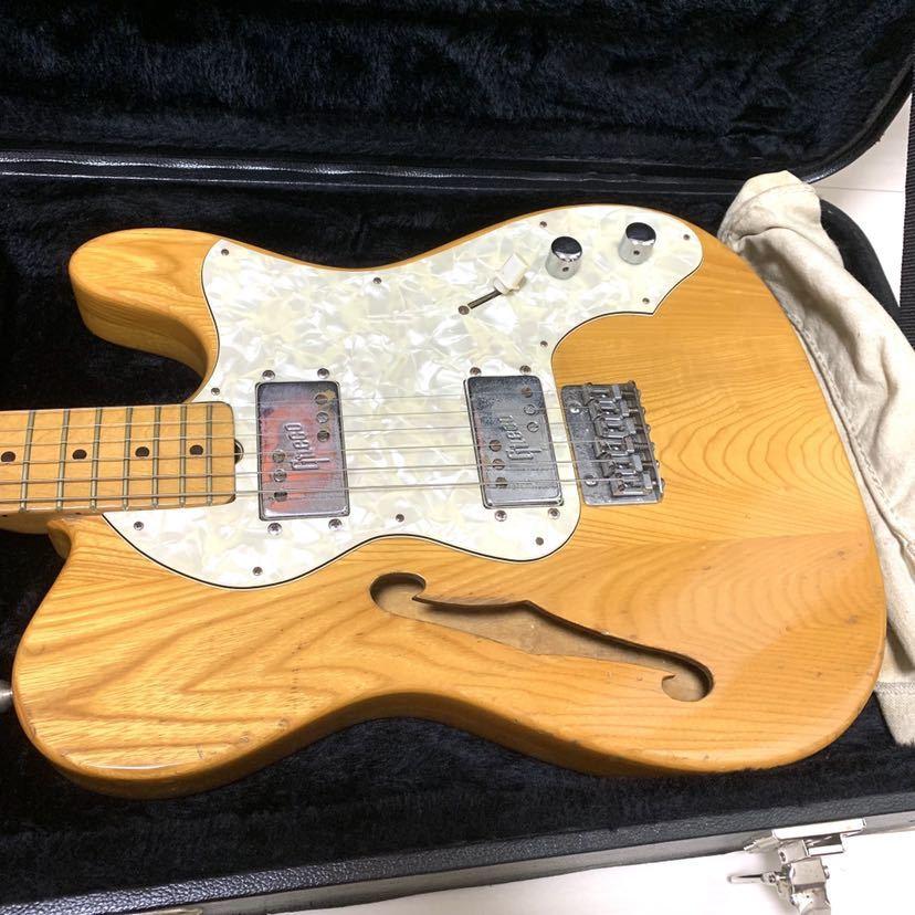 マツモク製 Greco グレコ テレキャスター シンライン 日本製 ジャパンヴィンテージ ビンテージギター_画像2