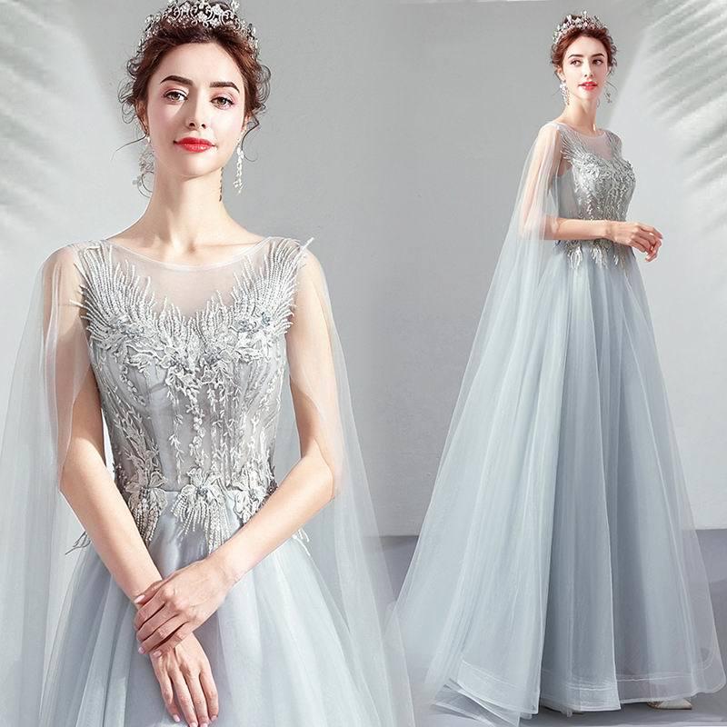 素敵なカラードレス 結婚式 披露宴 お色直し 二次会 パーティー 演奏会 発表会 ステージ衣装 TS617_画像2