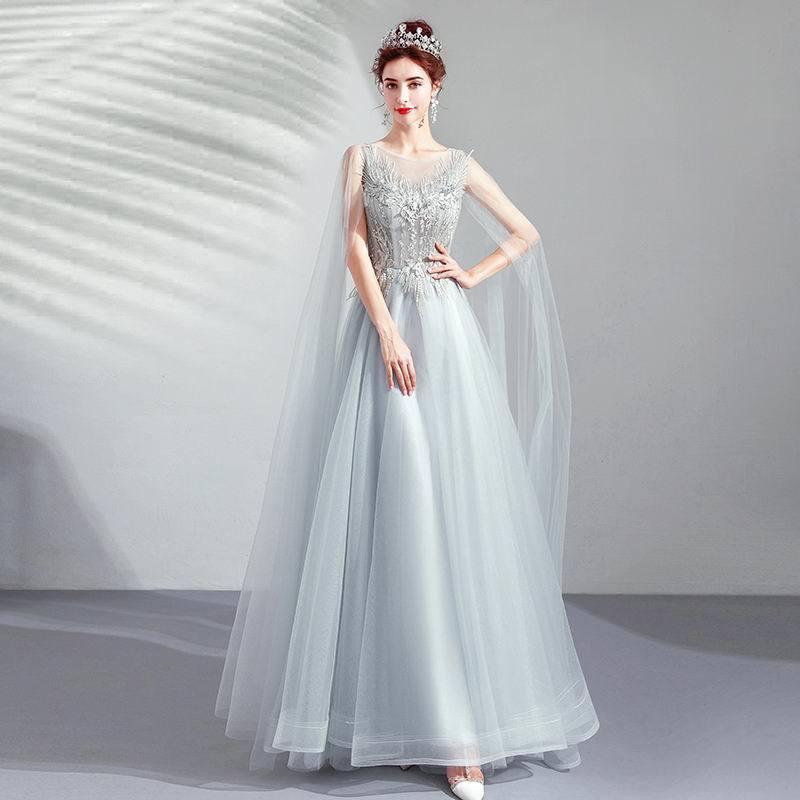 素敵なカラードレス 結婚式 披露宴 お色直し 二次会 パーティー 演奏会 発表会 ステージ衣装 TS617_画像1
