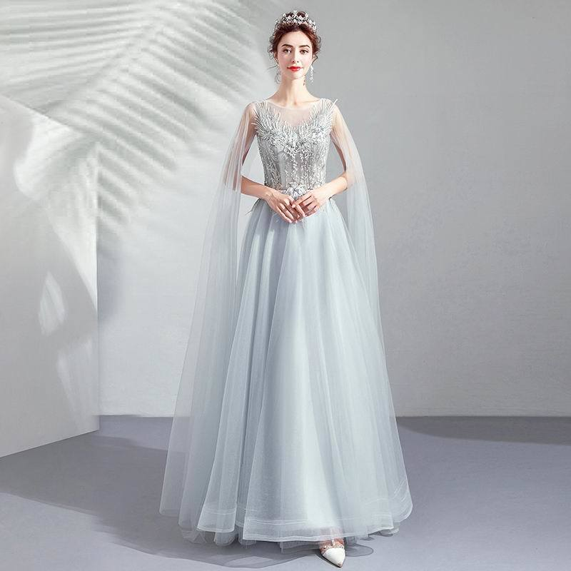 素敵なカラードレス 結婚式 披露宴 お色直し 二次会 パーティー 演奏会 発表会 ステージ衣装 TS617_画像4