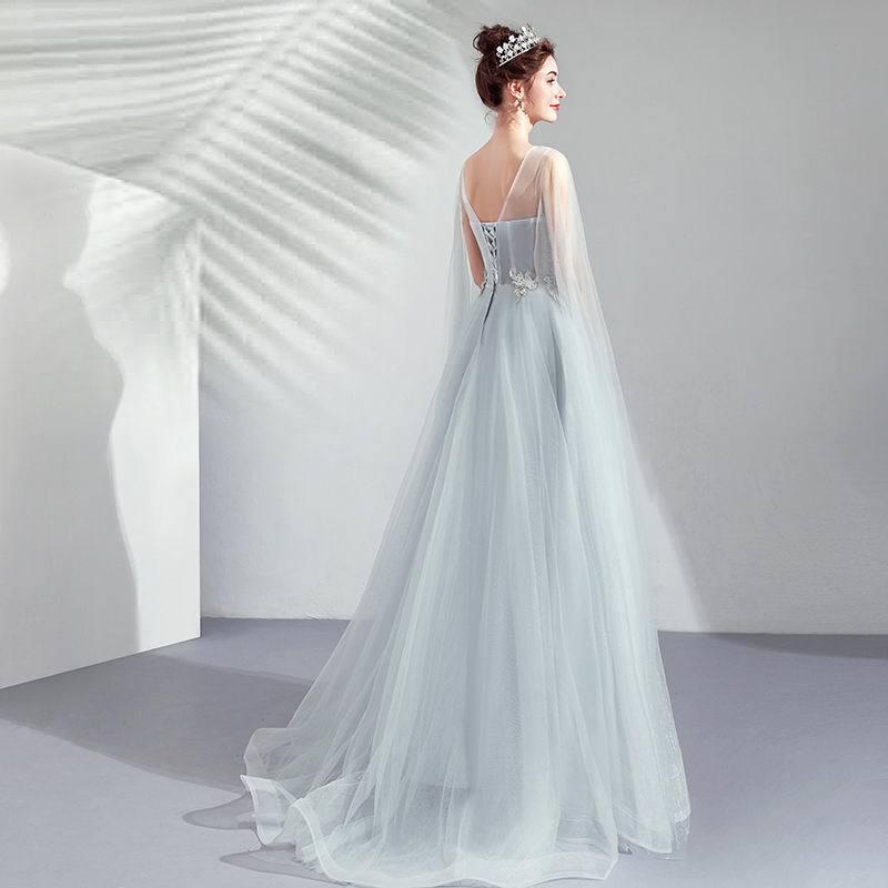 素敵なカラードレス 結婚式 披露宴 お色直し 二次会 パーティー 演奏会 発表会 ステージ衣装 TS617_画像5