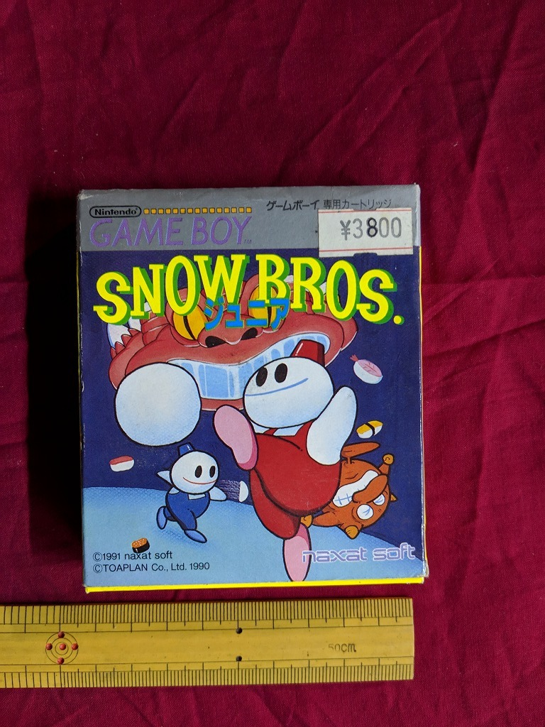 ☆ ゲームボーイ デッドストックソフト 「SNOW BROS. スノーブラザーズJr.」 レトロ コレクション   /hb7
