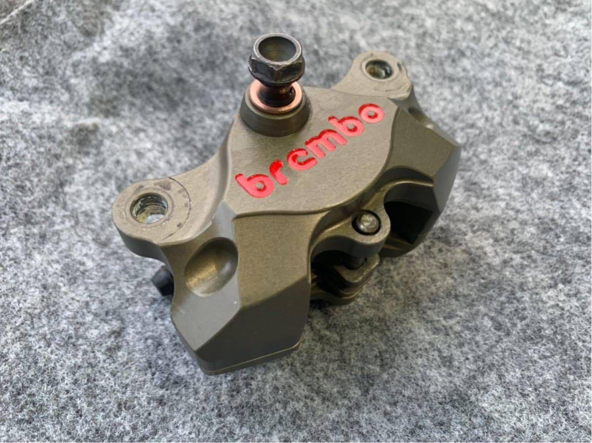 ブレンボ レーシングキャリパー ブレーキ brembo CNC 削り出し ブレーキキャリパー モンキー ゴリラ エイプ ダックス NSR カニ 2POT