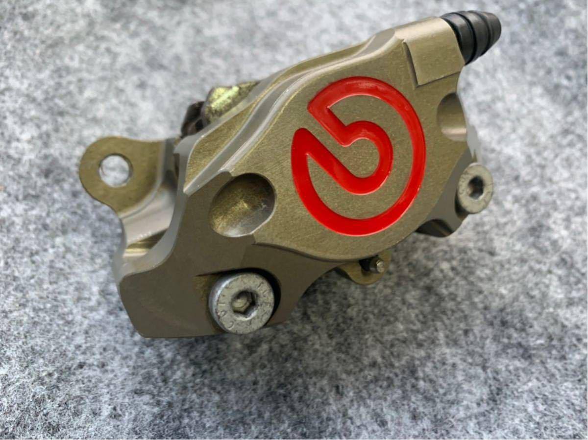 ブレンボ レーシングキャリパー ブレーキ brembo CNC 削り出し ブレーキキャリパー モンキー ゴリラ エイプ ダックス NSR カニ 2POT_画像6