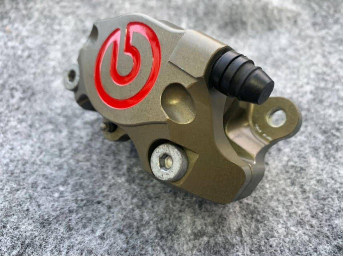 ブレンボ レーシングキャリパー ブレーキ brembo CNC 削り出し ブレーキキャリパー モンキー ゴリラ エイプ ダックス NSR カニ 2POT_画像7