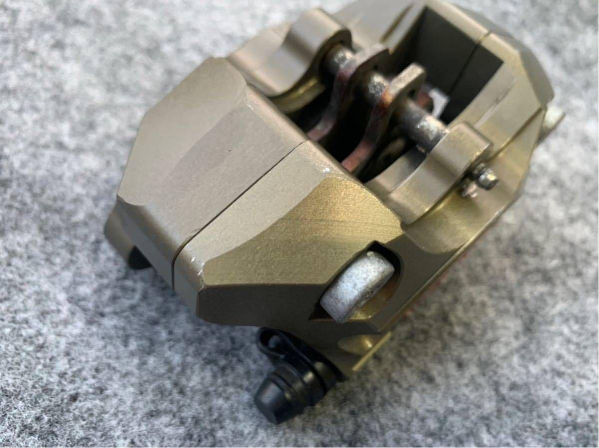 ブレンボ レーシングキャリパー ブレーキ brembo CNC 削り出し ブレーキキャリパー モンキー ゴリラ エイプ ダックス NSR カニ 2POT_画像10
