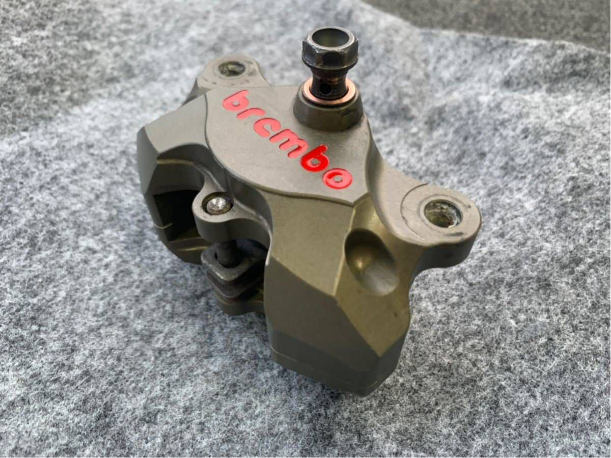 ブレンボ レーシングキャリパー ブレーキ brembo CNC 削り出し ブレーキキャリパー モンキー ゴリラ エイプ ダックス NSR カニ 2POT_画像3