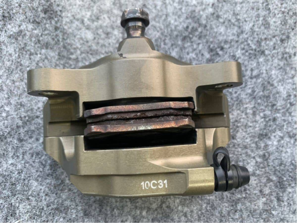 ブレンボ レーシングキャリパー ブレーキ brembo CNC 削り出し ブレーキキャリパー モンキー ゴリラ エイプ ダックス NSR カニ 2POT_画像5
