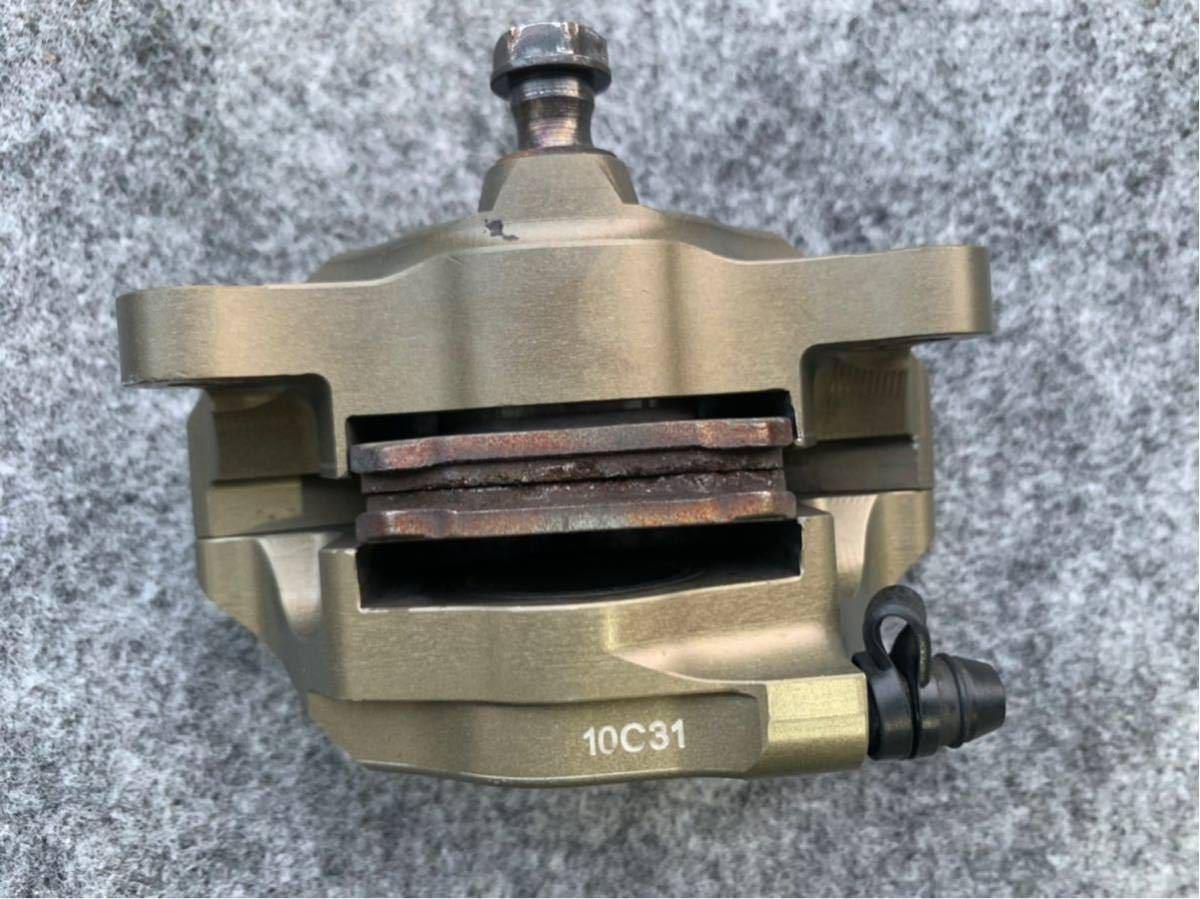 ブレンボ レーシングキャリパー ブレーキ brembo CNC 削り出し ブレーキキャリパー モンキー ゴリラ エイプ ダックス NSR カニ 2POT_画像9