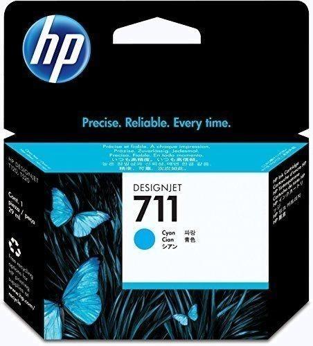 ☆ 日本HP ヒューレット・パッカード HP711インクカートリッジシアン29ml CZ130A 純正 顔料インク 対応機種 DesignJet T520/T120 ☆_画像1