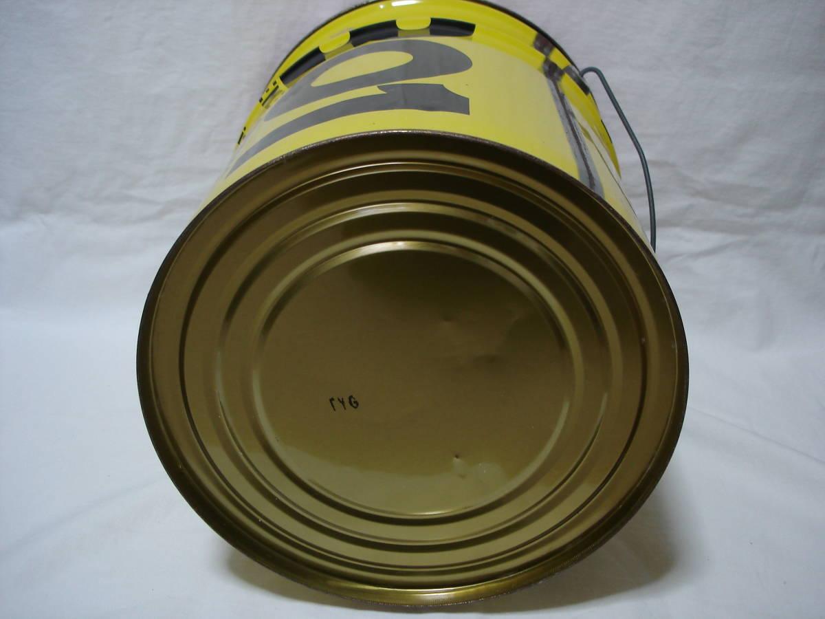 味のあるカーガレージ★エンジンオイル801★ブリキ製20Lペール缶・ダスト缶/蓋付き_画像8