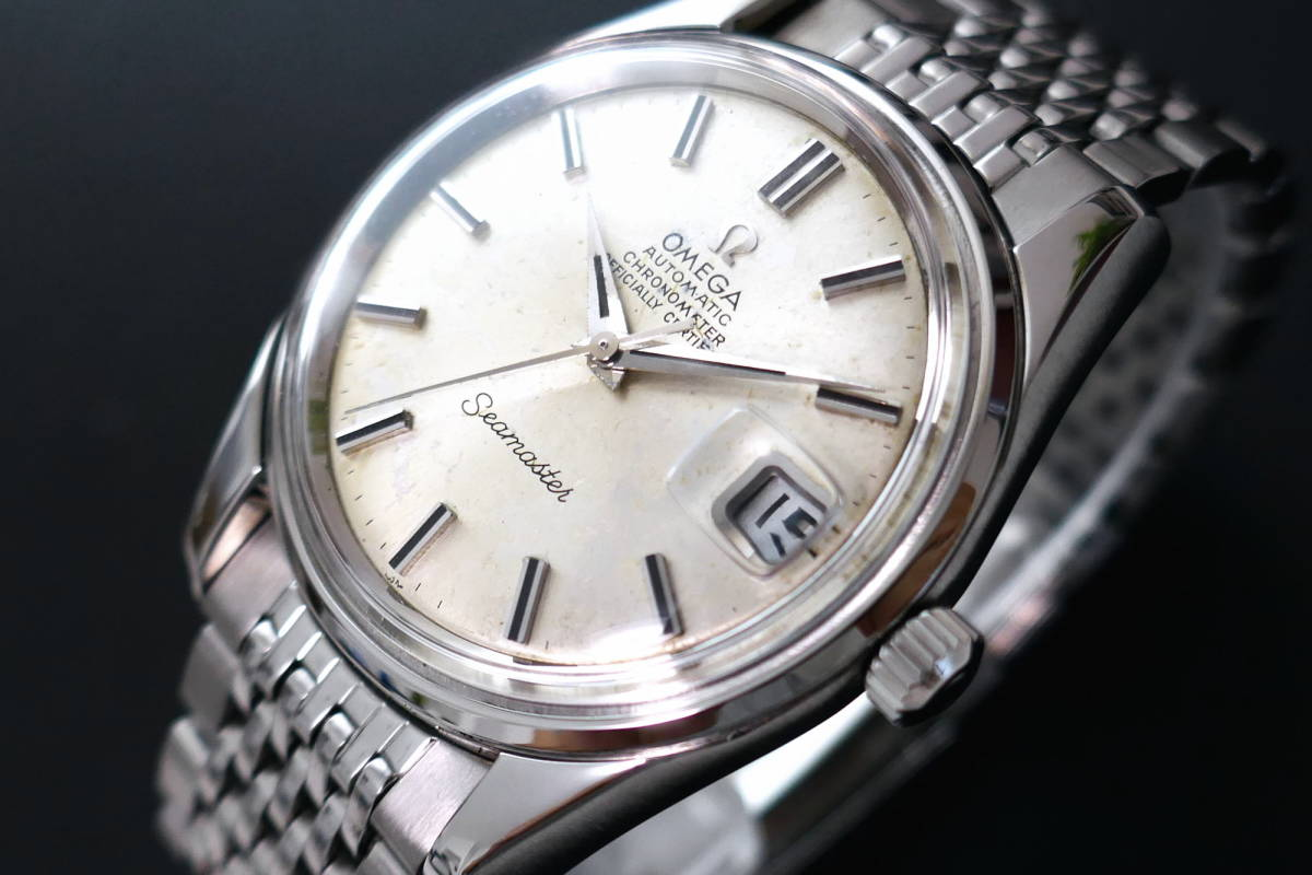 極良品◆OMEGA Seamaster 「CHRONOMETER」クロノメーター 1970年◆SP168024◆OH済 シーマスター