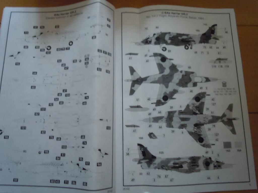 エアフィックス 1/48  BAe ハリアー GR3_画像7