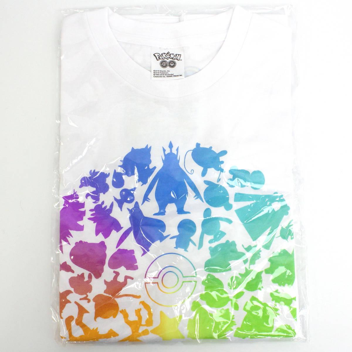 ポケモンGO 横浜 Pokemon GO Fest Yokohama 2019 Tシャツ フェスT Mサイズ ホワイト 限定 ゴプラ モンスターボールプラス_画像1