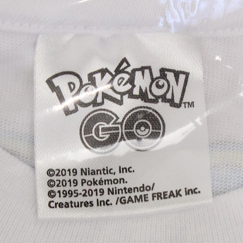 ポケモンGO 横浜 Pokemon GO Fest Yokohama 2019 Tシャツ フェスT Mサイズ ホワイト 限定 ゴプラ モンスターボールプラス_画像3
