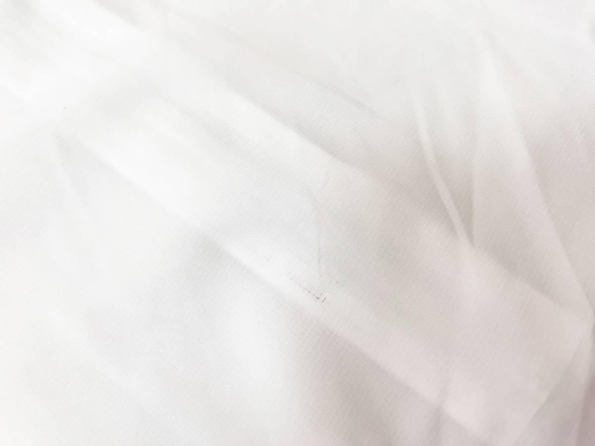 メンズ水着LLサイズ:フィラ【FILA】水陸両用◆ラッシュガード・ラッシュジャケット:薄手白 訳あり・B品_画像5