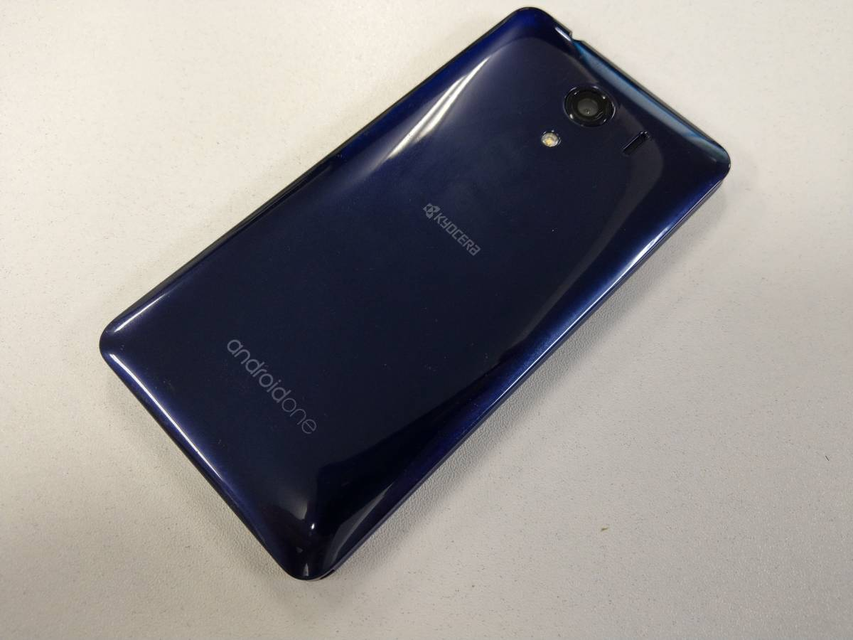 Y!mobile Android One S2 ネイビー_画像2