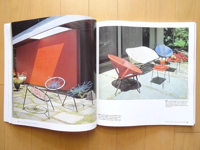 洋書◆1950年代の家具写真集 本 デスク 机 チェア 椅子 インテリア イームズ_画像3