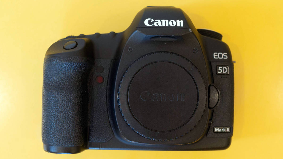Canon EOS 5D MarkⅡ ボディ 不動 要修理 部品取り ジャンク