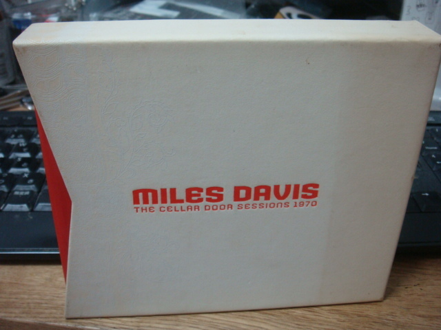 MILES DAVIS THE CELLAR DOOR SESSIONS 1970 6CD KEITH JARRETT JOHNMcLAUGHLIN マイルス デイヴィス ザ セラー ドア セッションズ