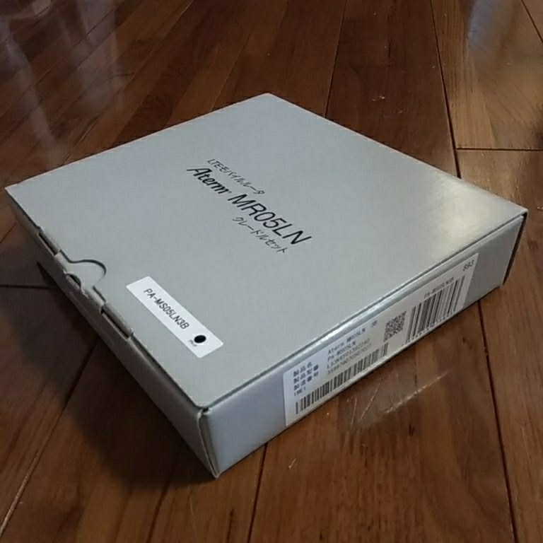 送料無料【箱有】Aterm Mobile Router NECプラットフォームズ PA-MR05L-EX5C クレードル モバイルルータ Wi-Fi