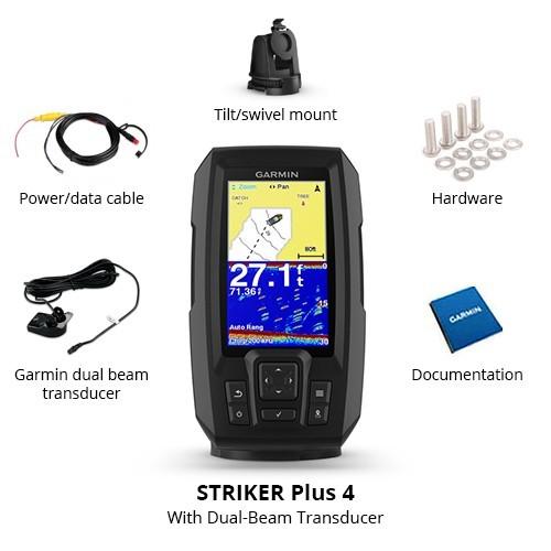 【新品】1スタ ガーミン Garmin STRIKER 4cv Fi Transducer クリアビュー 振動子セット ガーミン魚群探知機 GPS対応 即納品_画像3