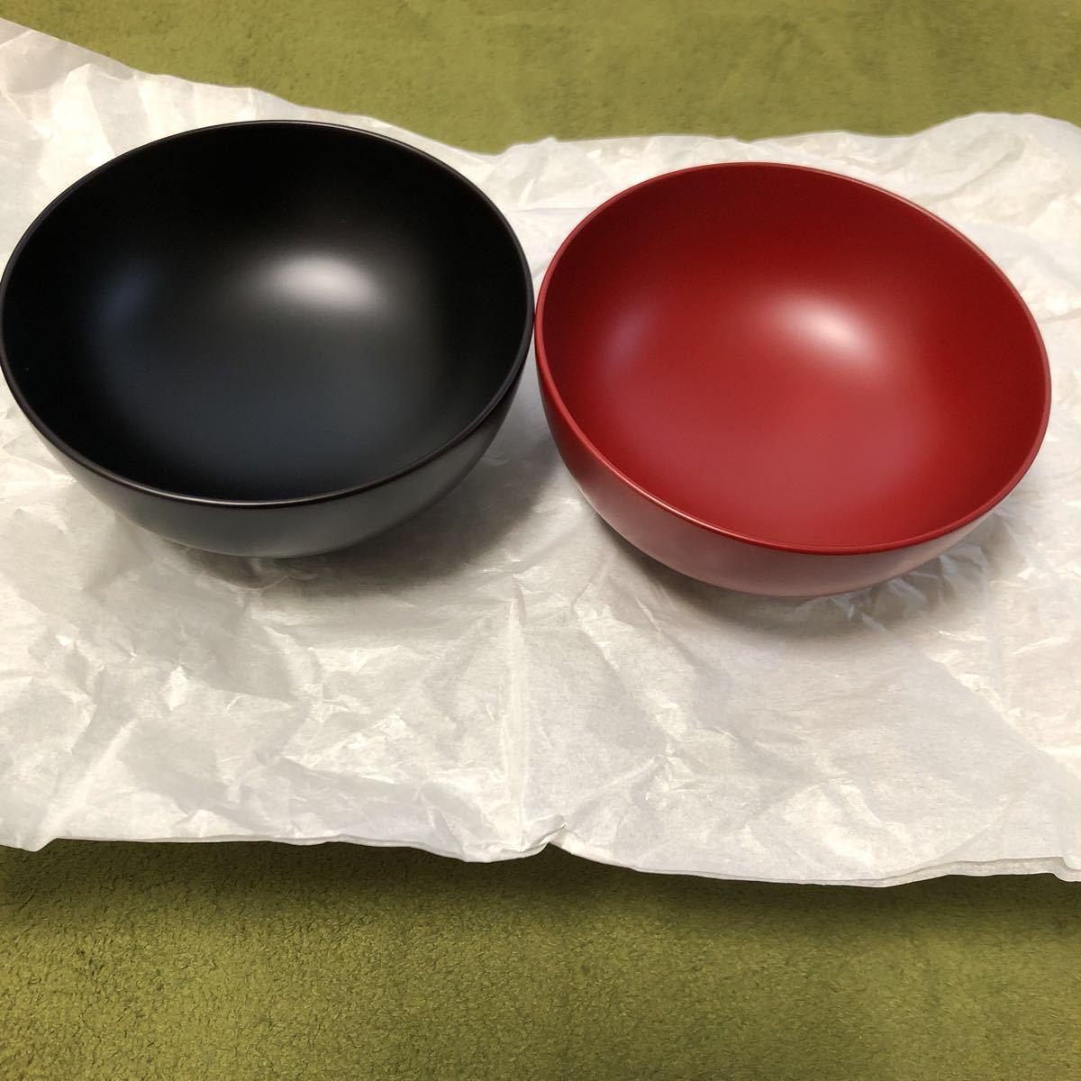 浄法寺塗 夫婦汁椀 うるみ工芸_画像3