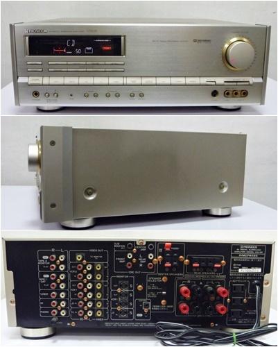 PIONEER/パイオニア VSA55/S-1800DV AVデジタルサラウンドアンプ&2WAYスピーカー リモコン付_画像2