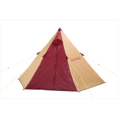 BUNDOK(バンドック) ティピー 型 ワンポール テント BDK-09 [ソロキャンプ] 中古 廃盤_画像2