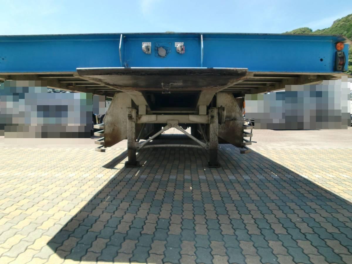 「東急 セミトレーラー フラット 台車 型式 TF352-22 三菱 ふそう 最大積載量 35t 幅 2800 緩和車両」の画像3