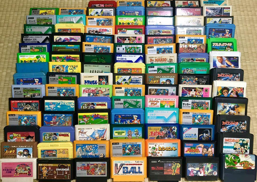 ファミコンソフト200本セット_画像2