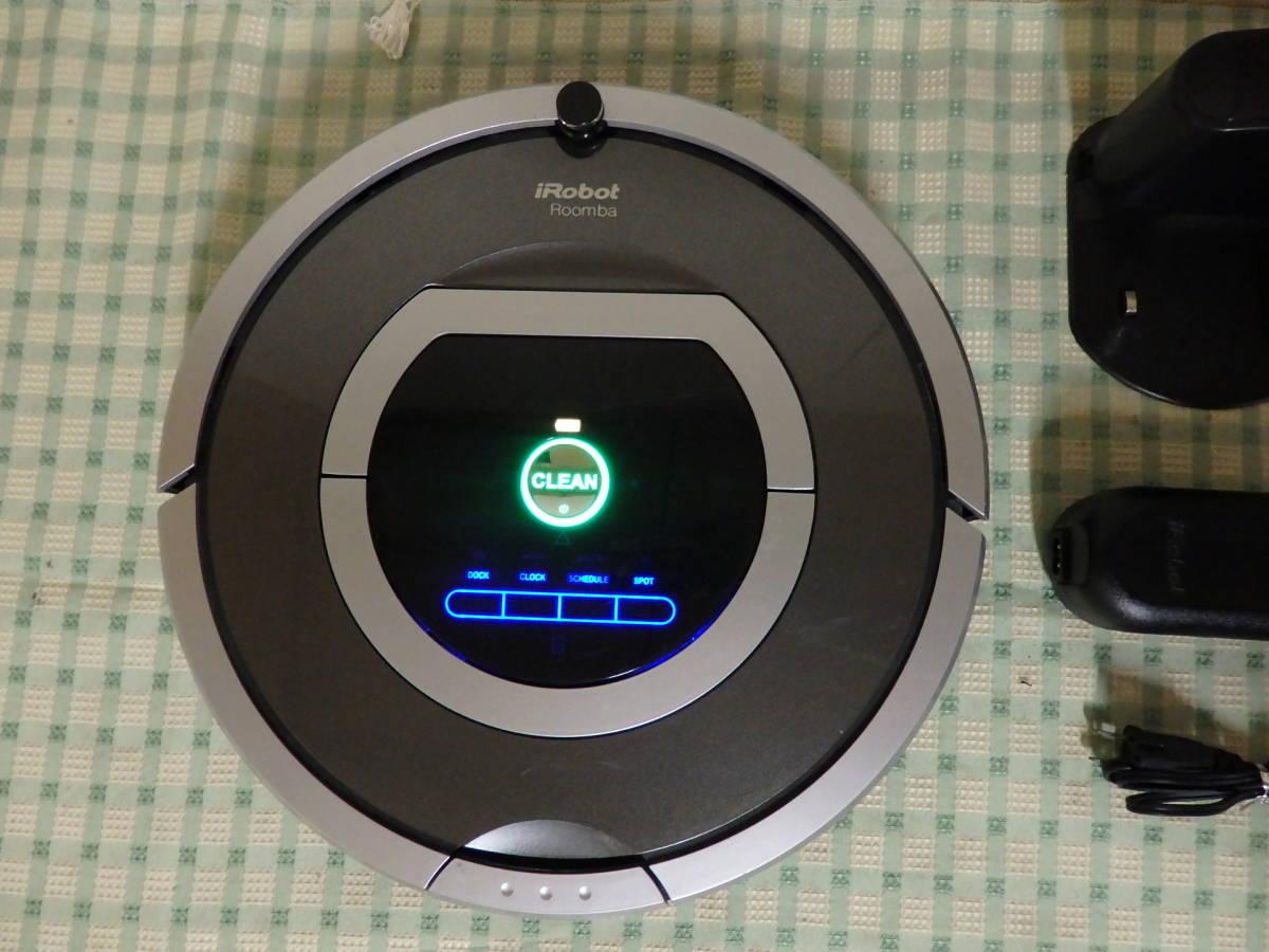 iRobot Roomba 自動掃除機 ルンバ 780 ロボット型クリーナー 2016年 現状品 _画像4