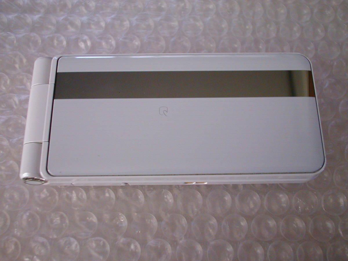 中古 Panasonic ドコモ P-smart ケータイ P-01J ホワイト_画像3