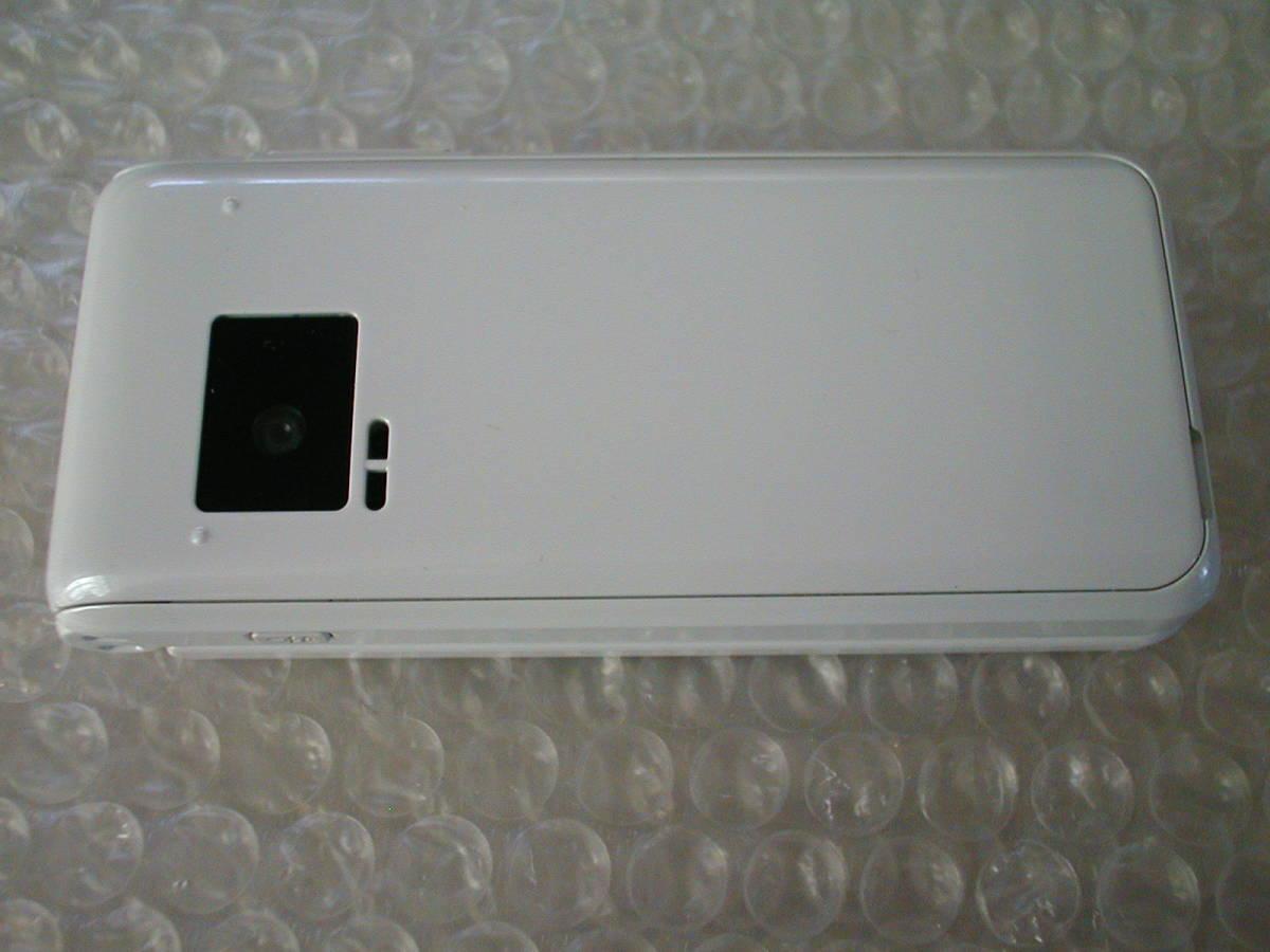 中古 Panasonic ドコモ P-smart ケータイ P-01J ホワイト_画像4