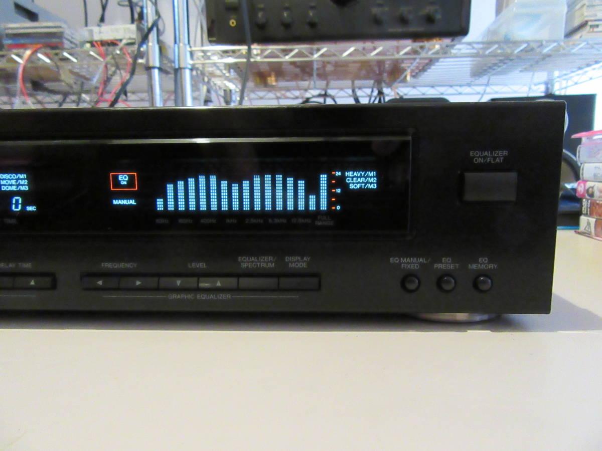 Panasonic SH-DN7 ステレオ サウンド プロセッサー 内部清掃 接点洗浄 メンテナンス施行済み 中古品 ゆうパック送料着払い発送_画像3