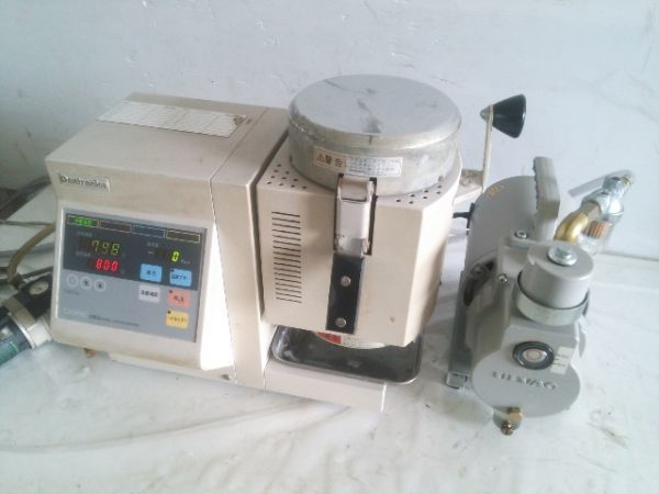 歯科技工 Dentronics/デントロニクス CASPAC キャスパック C602 真空加圧鋳造機