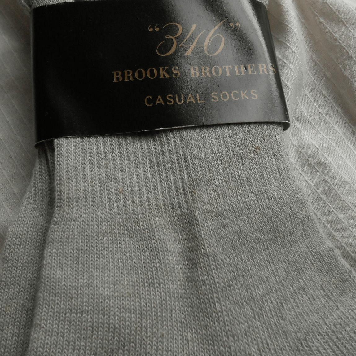 ■ブルックス ブラザーズ ジャパンBrooks Brothers■紳士 メンズ ソックス靴下■2足セット■25-27cm■未使用品■_画像5