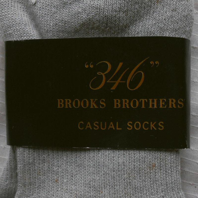 ■ブルックス ブラザーズ ジャパンBrooks Brothers■紳士 メンズ ソックス靴下■2足セット■25-27cm■未使用品■_画像3