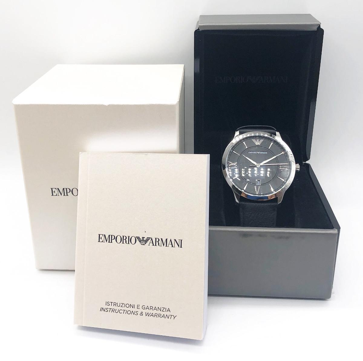 more photos 929a6 4f757 アルマーニ メンズ 時計 革ベルトの値段と価格推移は?|28件の ...