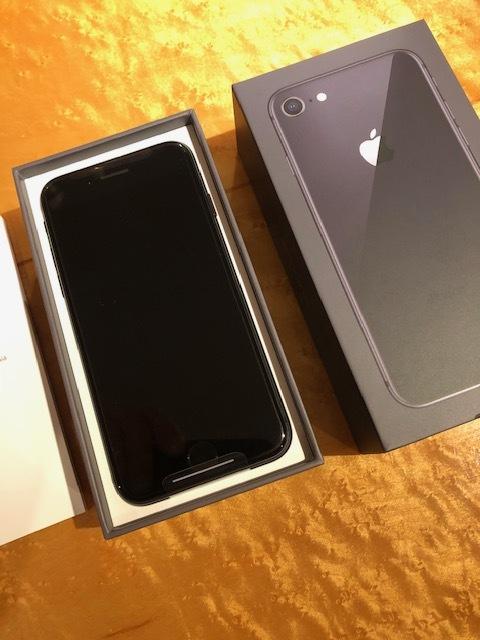 新品未使用品 softbank iPhone8 64GB スペースグレー 黒 ソフトバンク