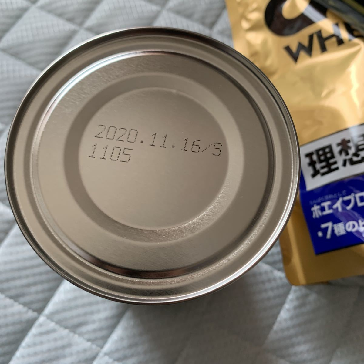 ザバスホエイプロテイン100 リッチショコラ・バニラ味 新品未開封品_画像2