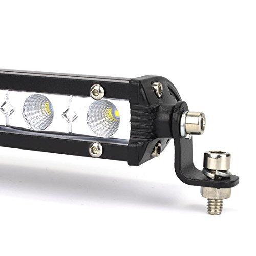 限定1個♪Safego 36W LED作業灯 汎用LEDライトバー オフロード 12LED ワークライト12v/24v対応 C_画像6