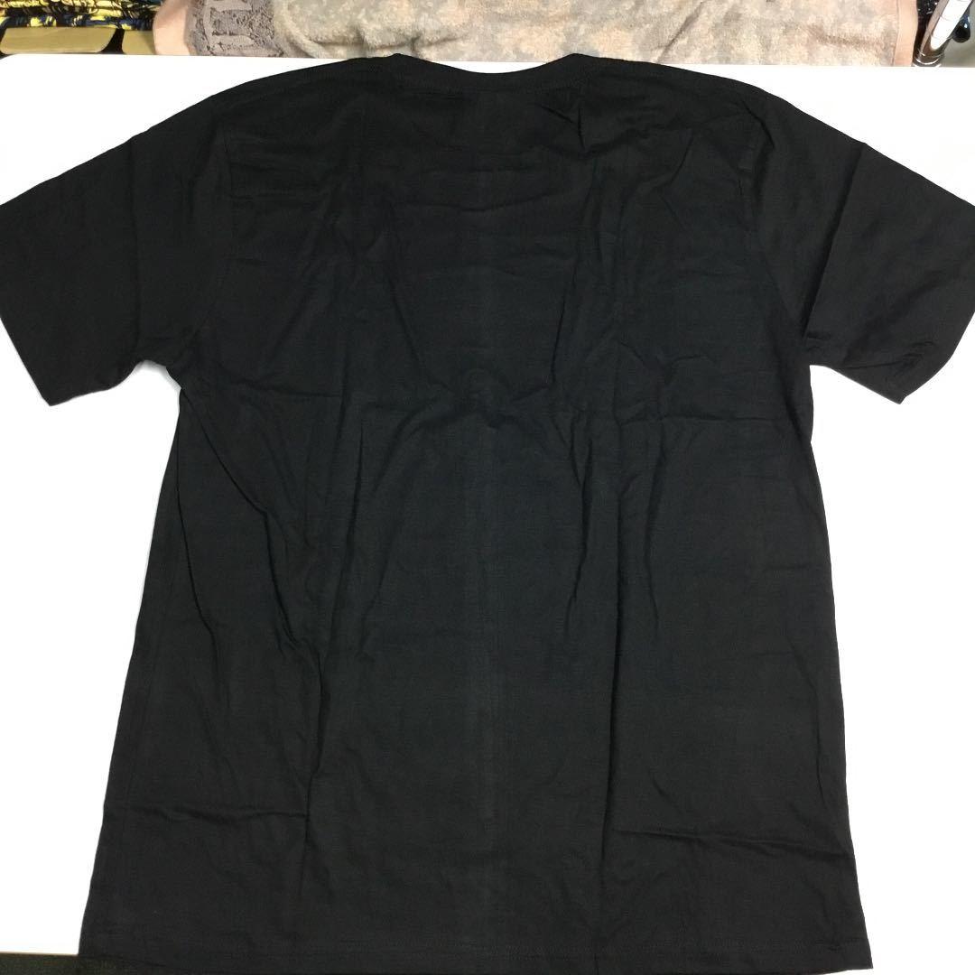 バンドデザインTシャツ XXLサイズ ミックジャガー ローリングストーンズ MICK JAGGER THE ROLLING STONES 黒 DBRD1