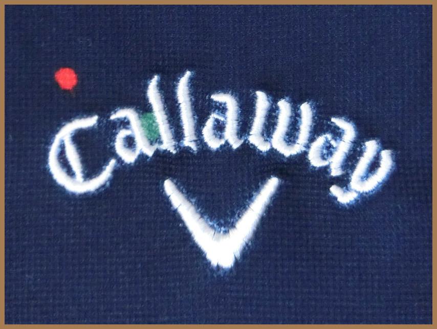 [正規品新品]Callawayキャロウェイアパレルゴルフシャツ■半袖ポロUVカット吸汗速乾■M紺ネイビー定価:10,260円■ISLAND DREAMS_画像4