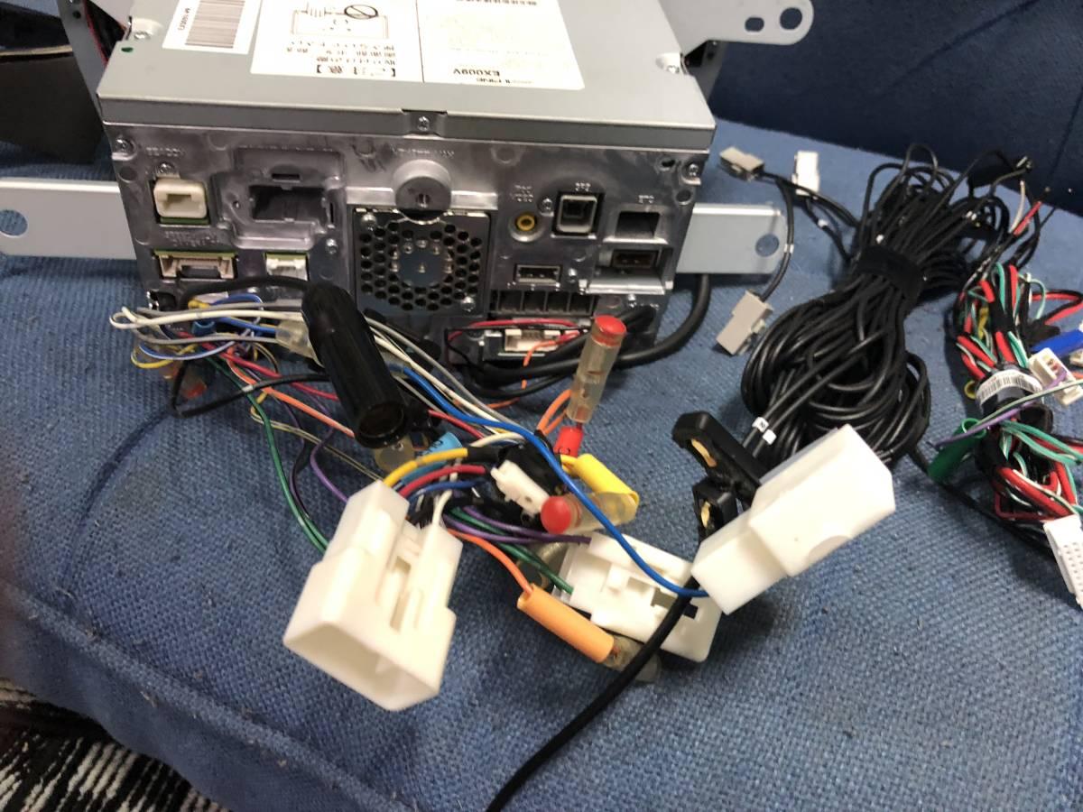 アルパイン 9インチ SDナビ EX009V フルセグ ZVW30 プリウス パネル付き BIG-X_画像9