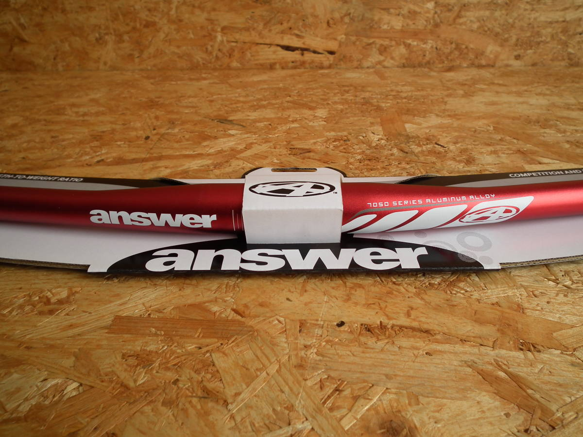 NEW! Answer ProTaper XC Flat Trail 685 mm Handle Bar