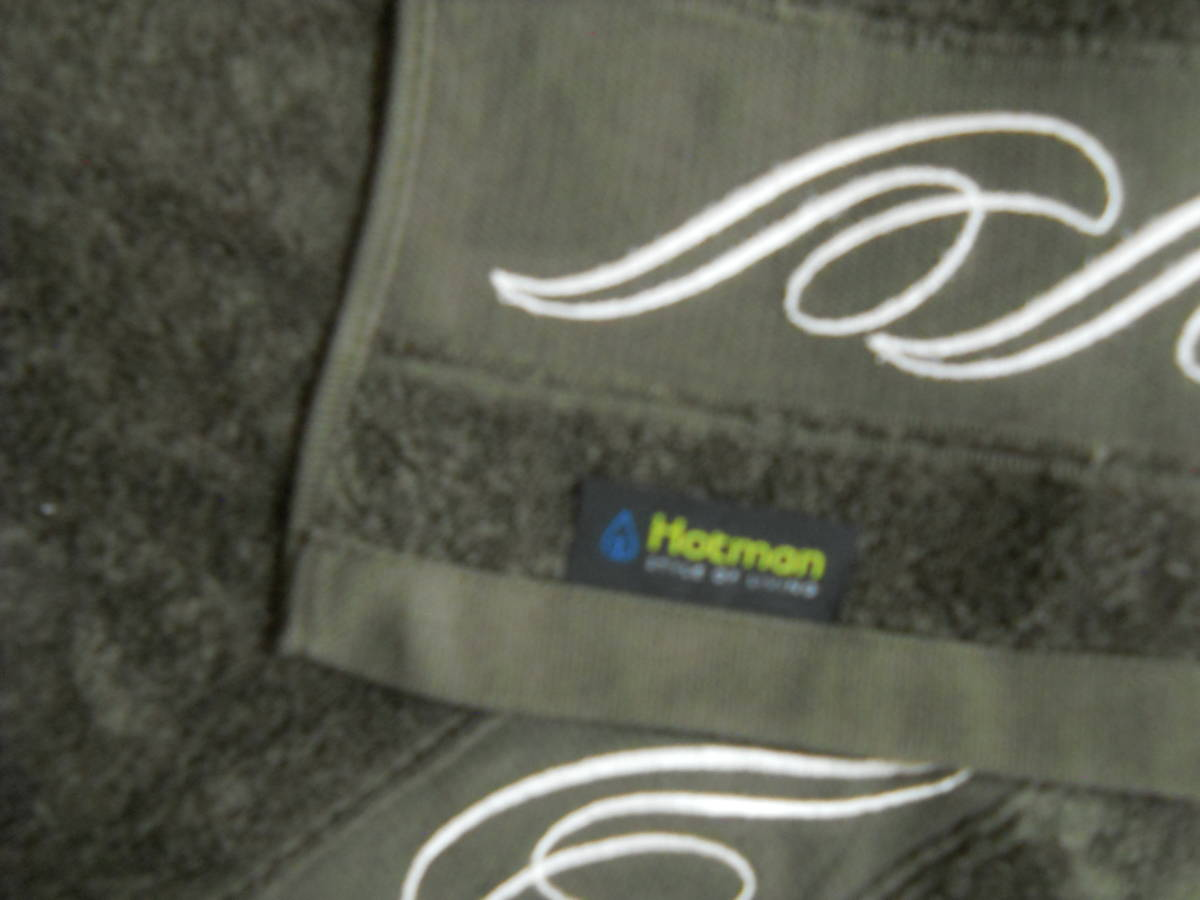【HOTMAN ・ホットマン】 <1秒タオル>17プレジール ヘアバスタオル 2枚 ◆_画像3