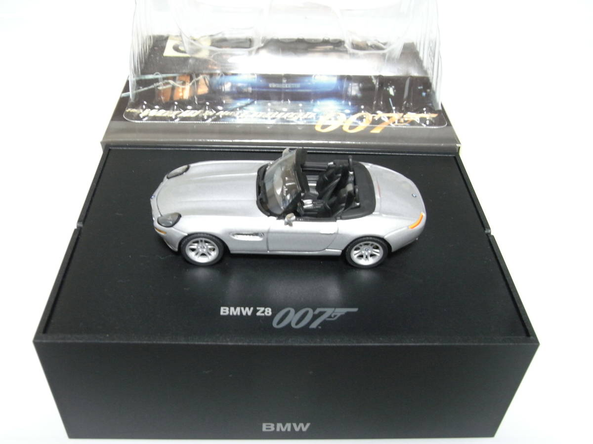 【BMW別注】 1/43 MINICHAMPS BMW Z8 James Bond Edition 1999 ジェームズボンド 007 The World Is Not Enough 007 ミニチャンプス_画像1