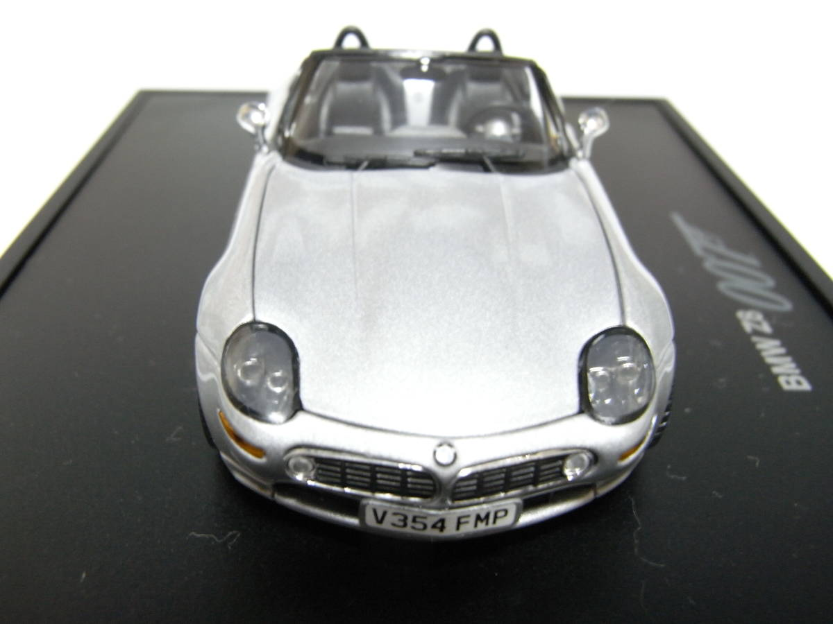 【BMW別注】 1/43 MINICHAMPS BMW Z8 James Bond Edition 1999 ジェームズボンド 007 The World Is Not Enough 007 ミニチャンプス_画像2